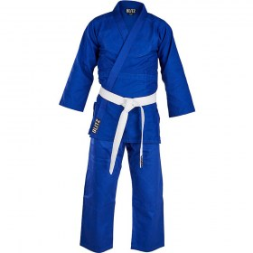 Kids-Polycotton-Student-Judo-Suit-350gsm-Blue